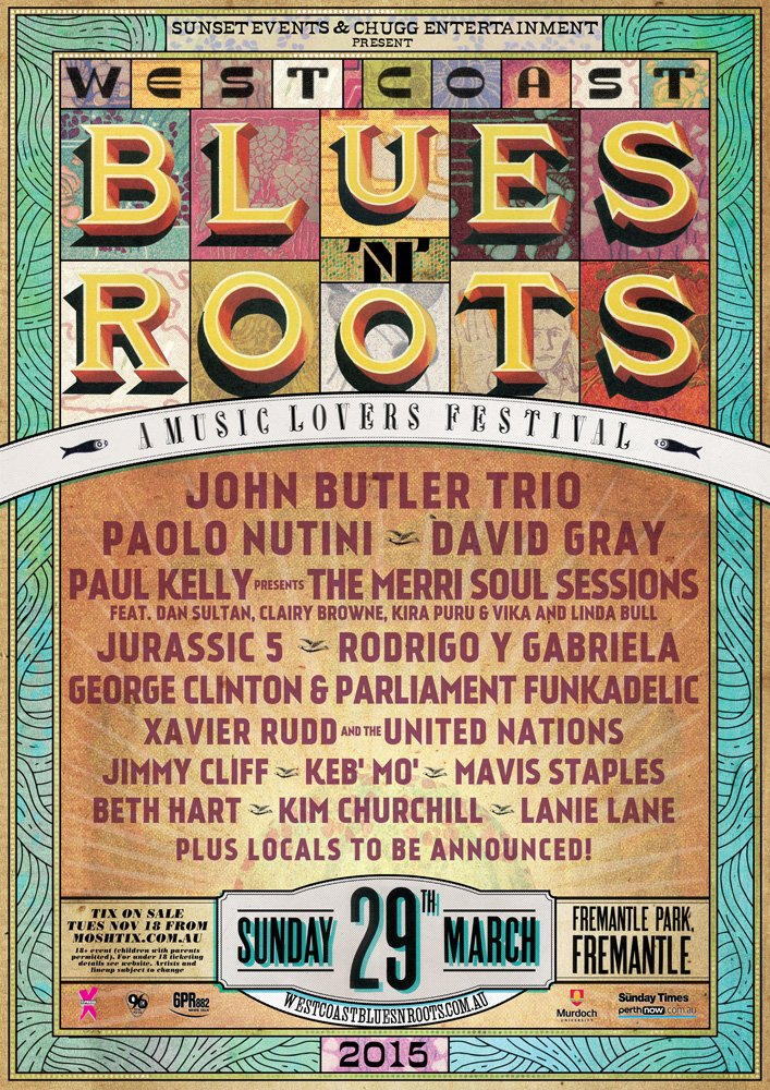 West Coast Blues 'n Roots Festival in Perth