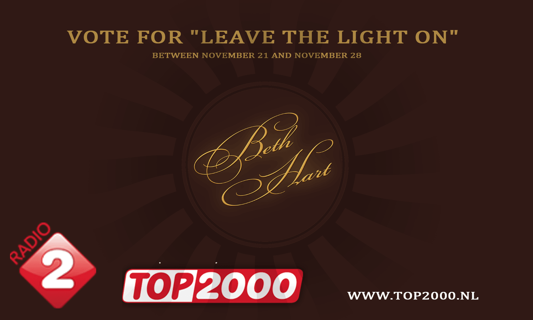 Vote for Beth Hart in Top 2000