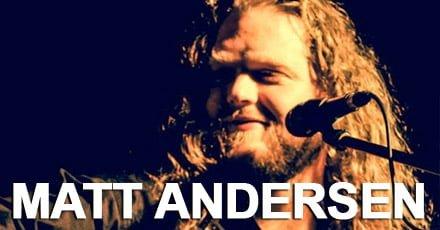 Special Guest on USA tour: Matt Andersen