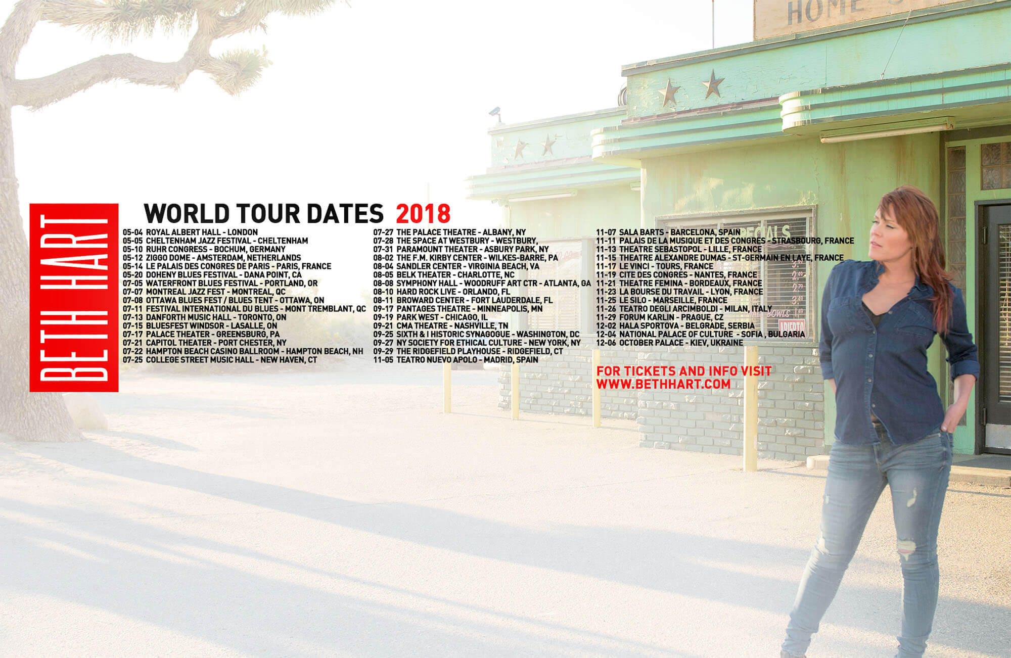World Tour Dates